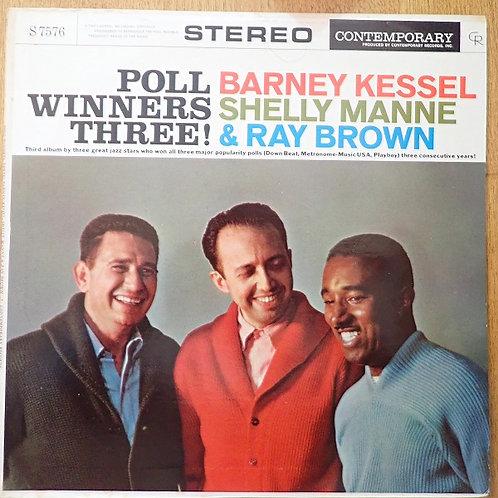 Poll Winners Three ! 】DG ・ Barney Kessel, Shelley Manne