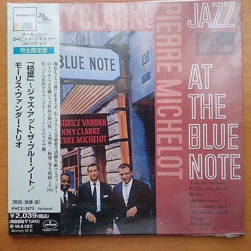 Mourice Vander(p),Kenny Clarke(ds),Pierre Michelot(b)/Jazz At The Blue Note