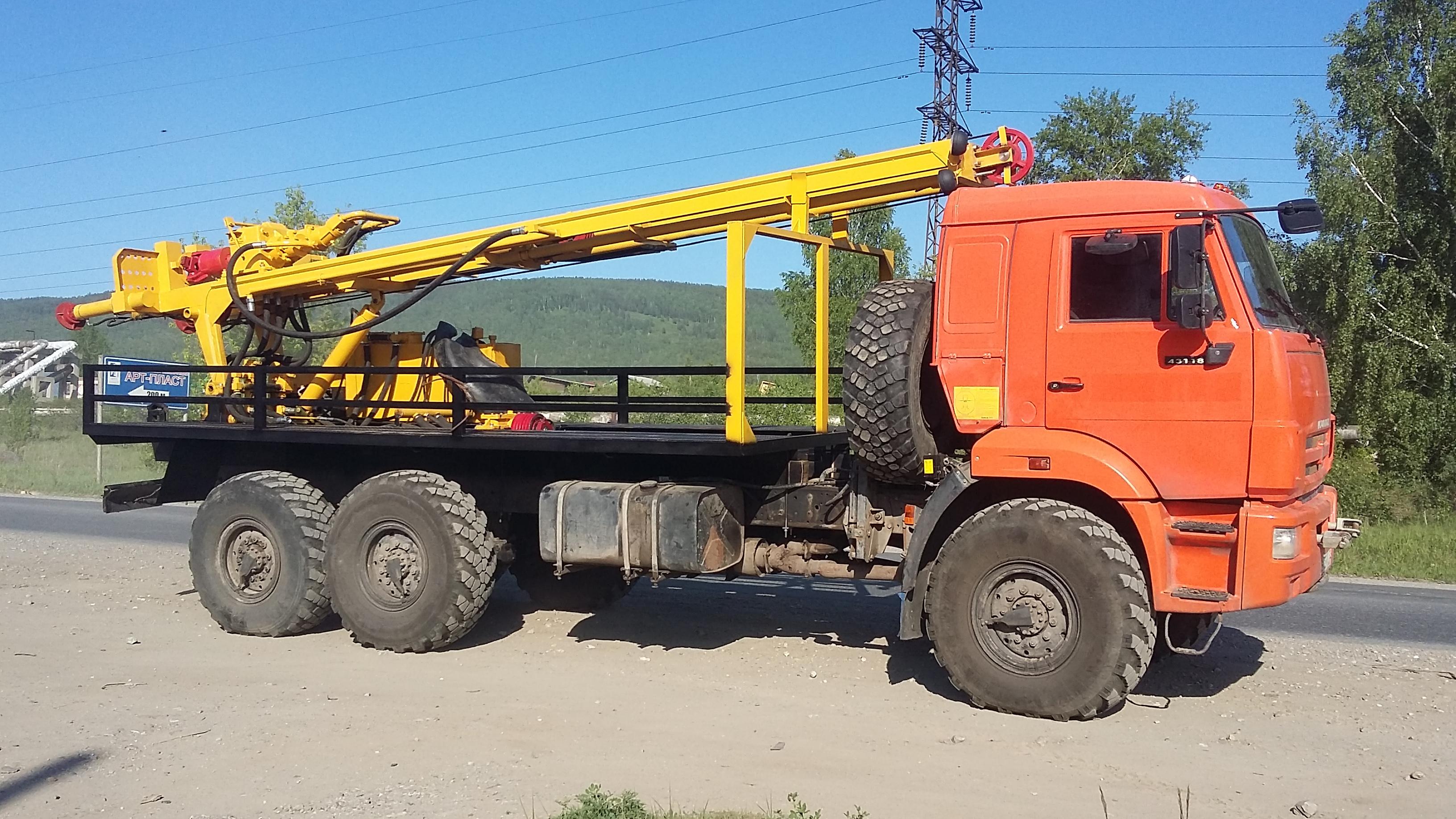 УРБ-2А2 на базе КАМАЗ 43118