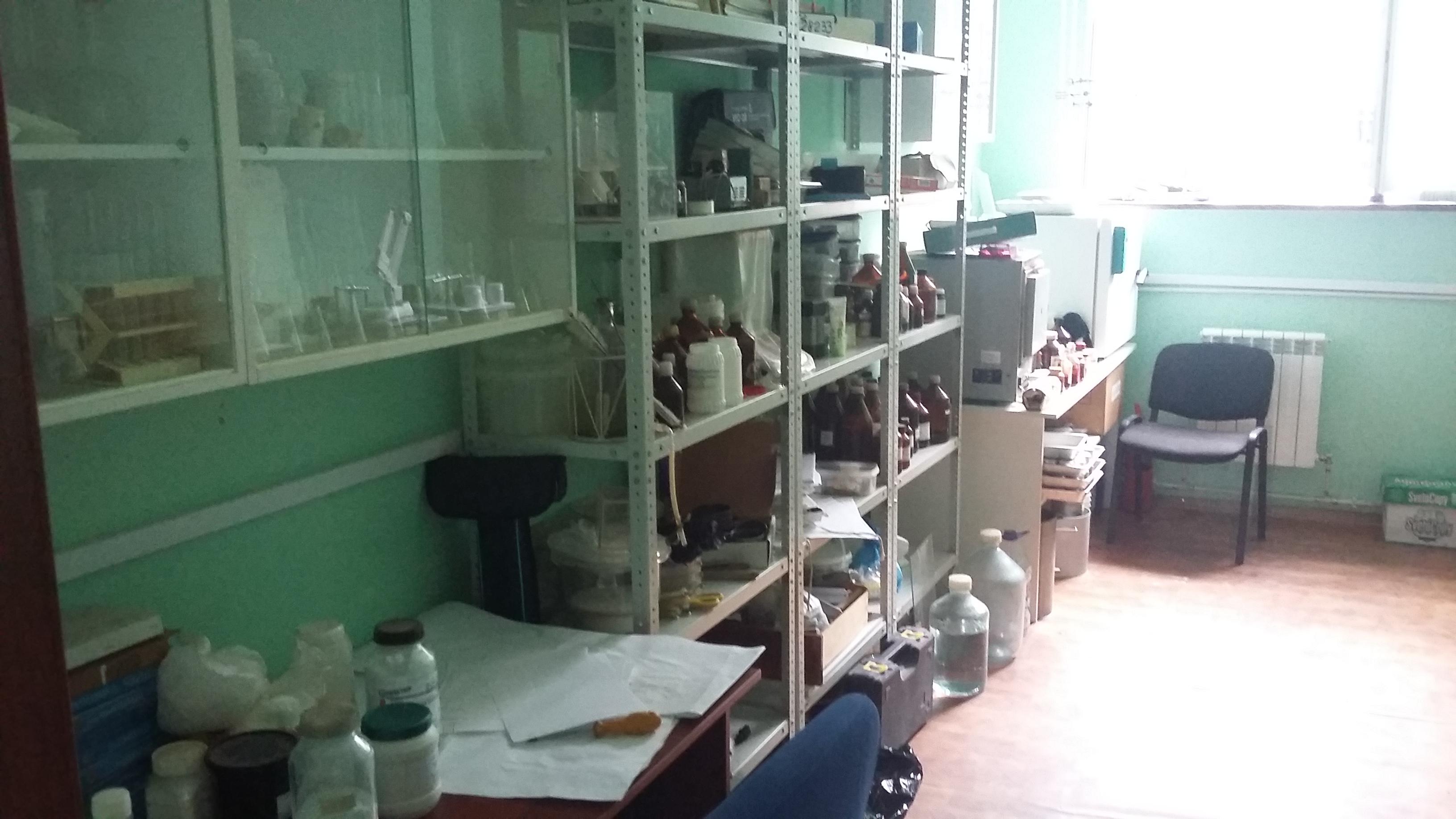 Грунтовая лаборатория
