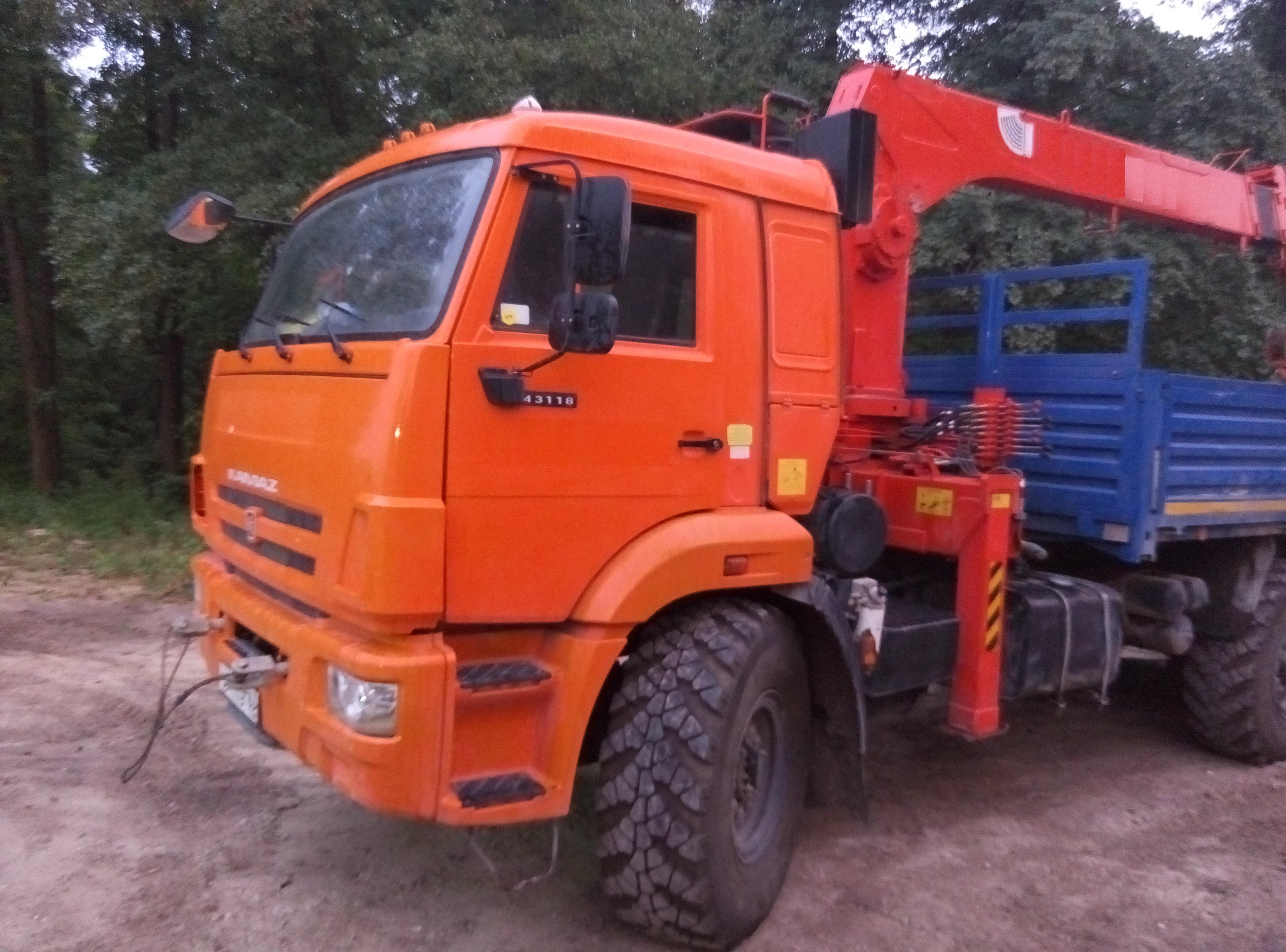 КАМАЗ 43118 с КМУ