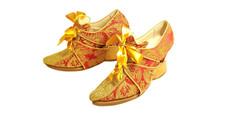 Туфли женские с галошами