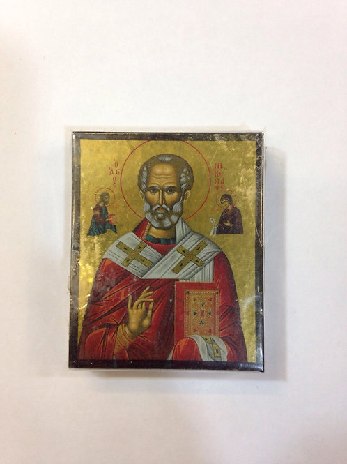 Saint Nicolas Small Icon