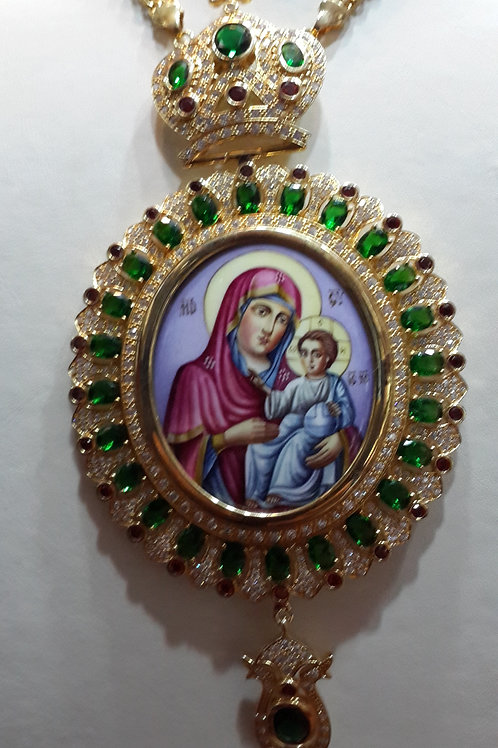 Engolpion Virgin Mary