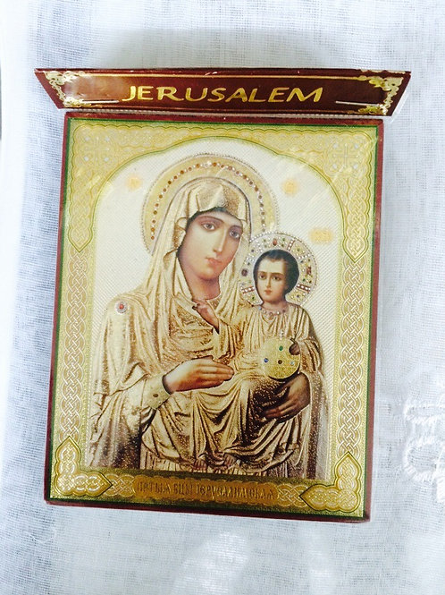 Virgin Mary of Jerusaelm Icon