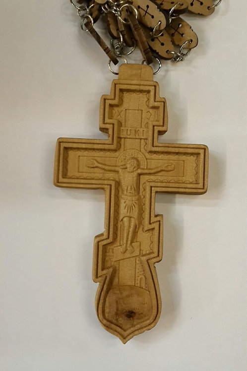 Wood cross for father