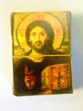 100 paper pictures of Jesus Pantokrato