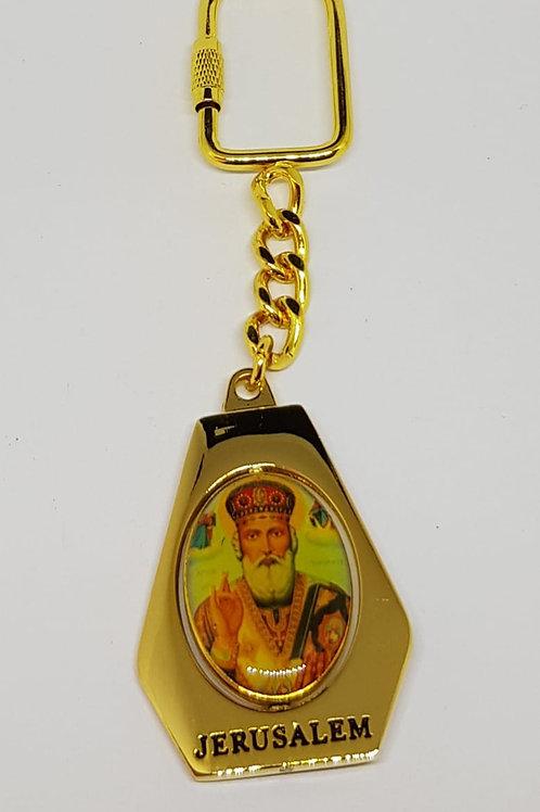 Saint Nicolas key chain