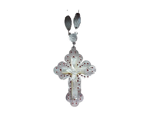 Mother of Pearl Cross
