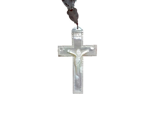 Mother of pearl engolpion cross