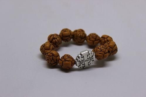 Finger rosary or travel rosary 10 beads