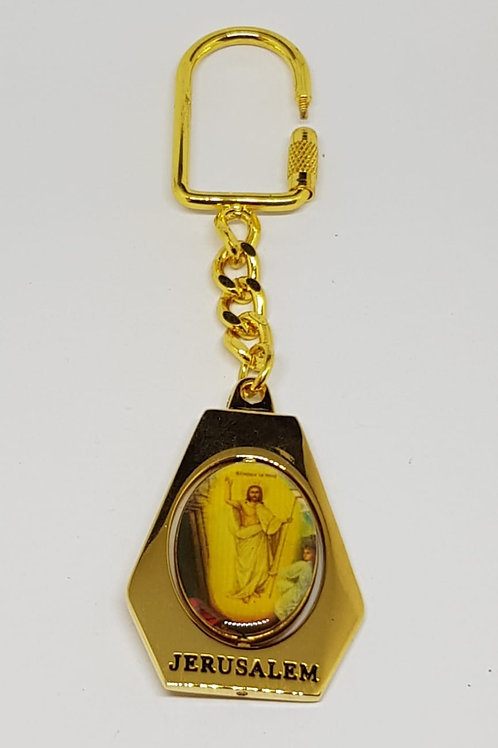 Ressuraction icon key chain