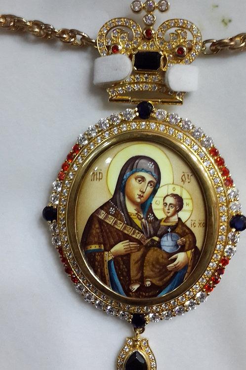 Engolpion Virgin Mary