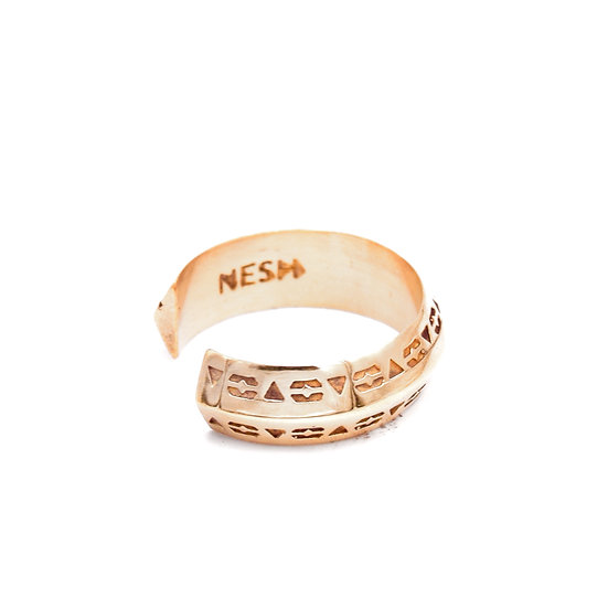 Gold Plated Unity Ring