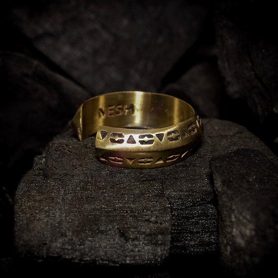Brass Unity Ring