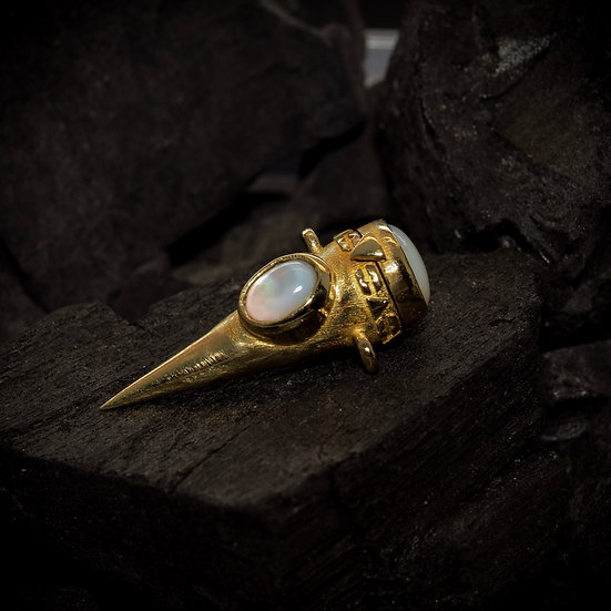 Brass Treasure Keeper - Mother of Pearl