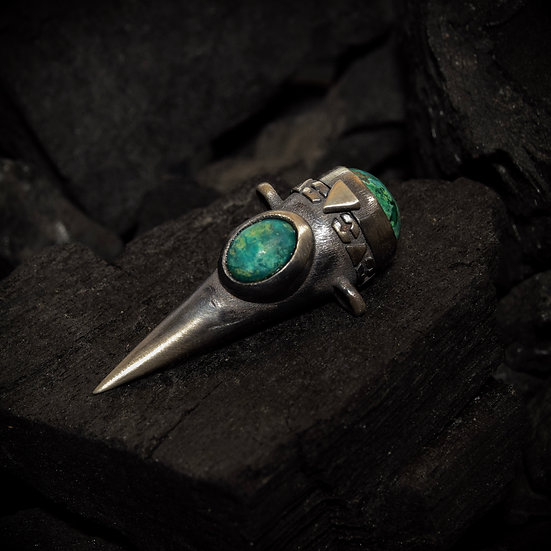 Sterling Silver Treasure Keeper - Turquoise