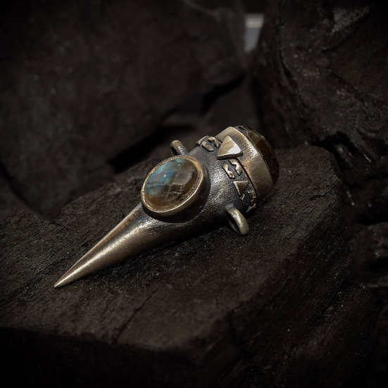 Sterling Silver Treasure Keeper - Labradorite