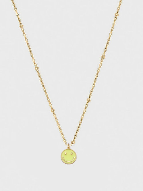 SMILEY DAINTY NECKLACE