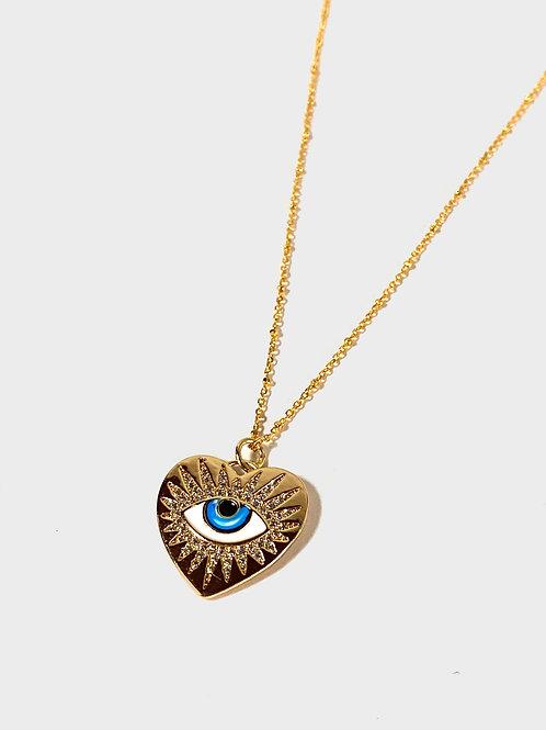 Evil eye necklace