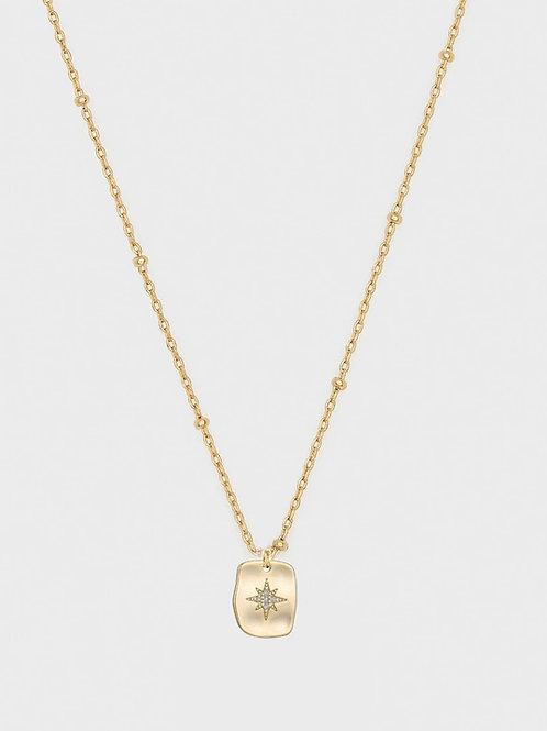 Starburst cz pendant