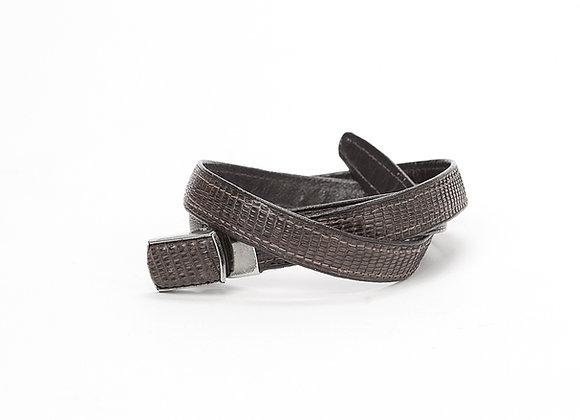 Men's Crocodile Belt