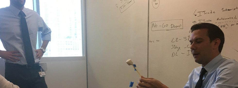 Marshmallow challenge at IPC 2