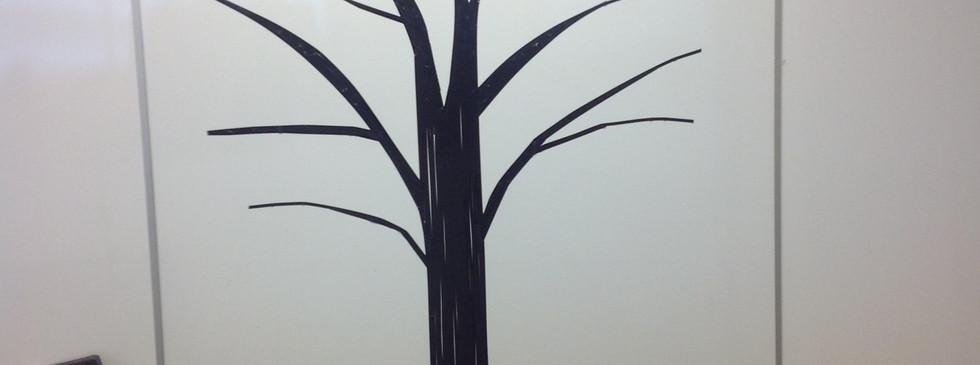 Gratitude Tree Empty