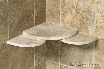 Shower Corner Shelves