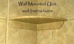 Wall Mounted Shower Shelf