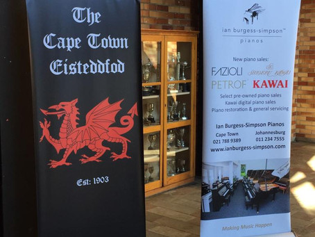 Ian Burgess-Simpson Pianos Awards Cape Town Eisteddfod 2019 Prizes