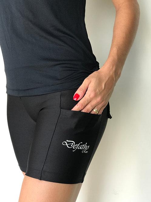 Shorts Compressão com Bolso Defatho