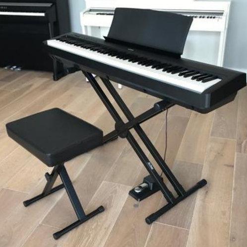 Kawai ES110 digital piano with X stand