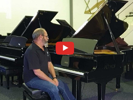 Video - First Impressions of new PETROF Pianos