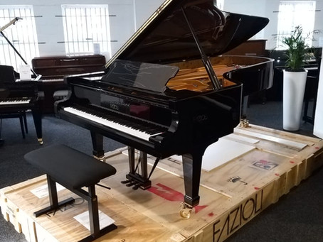 A Rare and Exciting Musical Event - Arrival of a Fazioli F278 Concert Grand!