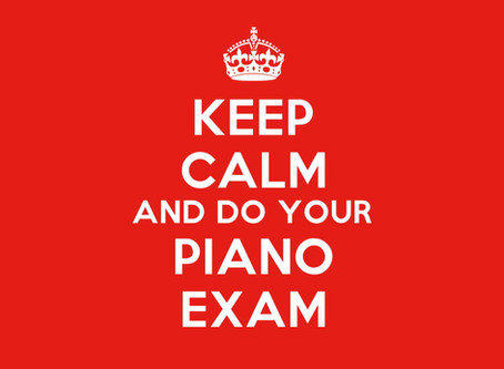 Dealing with Piano Exam Pressure