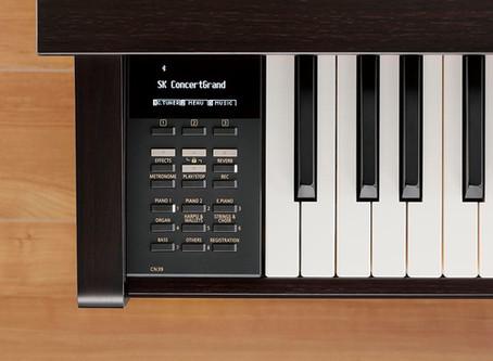 Kawai Launches New Digital Pianos - CN29 and CN39
