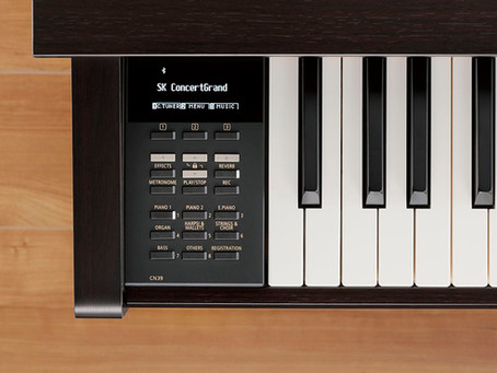Kawai Launches New Digital Pianos - CN29 and CN39