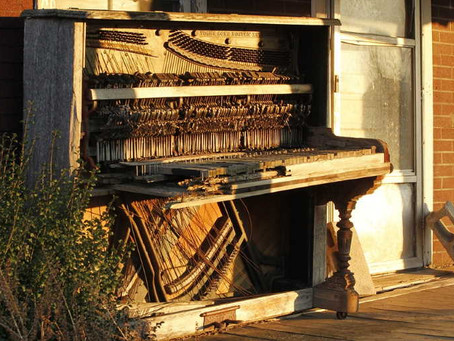 How to dispose of an unwanted piano