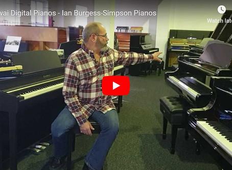 Video - Ian Introduces Kawai Digital Pianos