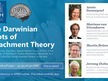Webinar – The Darwinian Roots of Attachment Theory