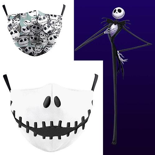The Nightmare Before Christmas Jack Skellington Novelty Face Mask