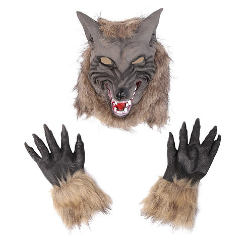 Creepy Wolf Costume Set