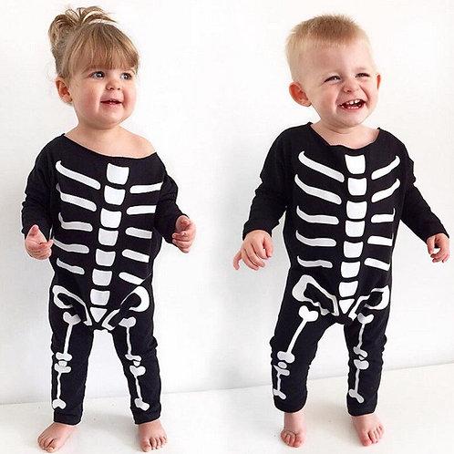 Baby Skeleton Costume Romper