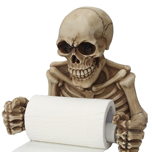 Halloween Skeleton Paper Holder