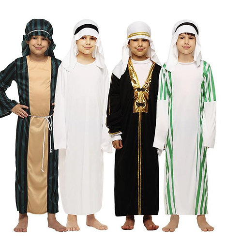 Youth Traditional Middle East Robe Costumes
