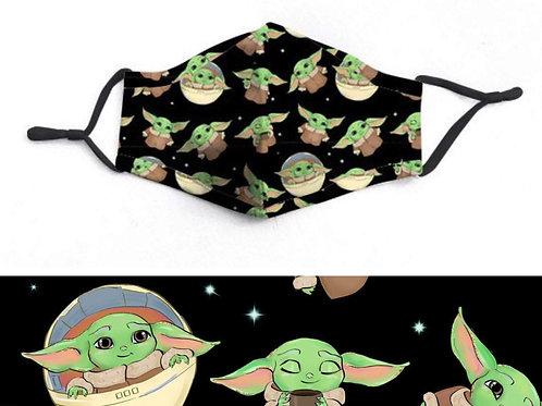 Love Baby Jedi Face-Mask