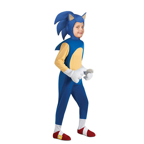 """Sonic the Hedgehog"" Deluxe Youth Cosplay Costume"