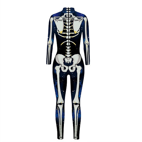 Adult Skeleton Costume Bodysuit