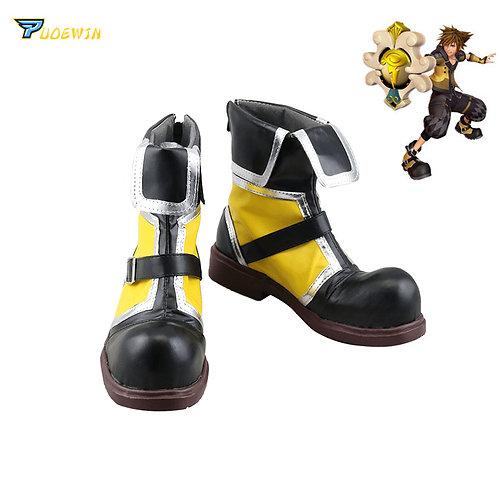 """Kingdom Hearts"" Sora Yellow Cosplay Boots"